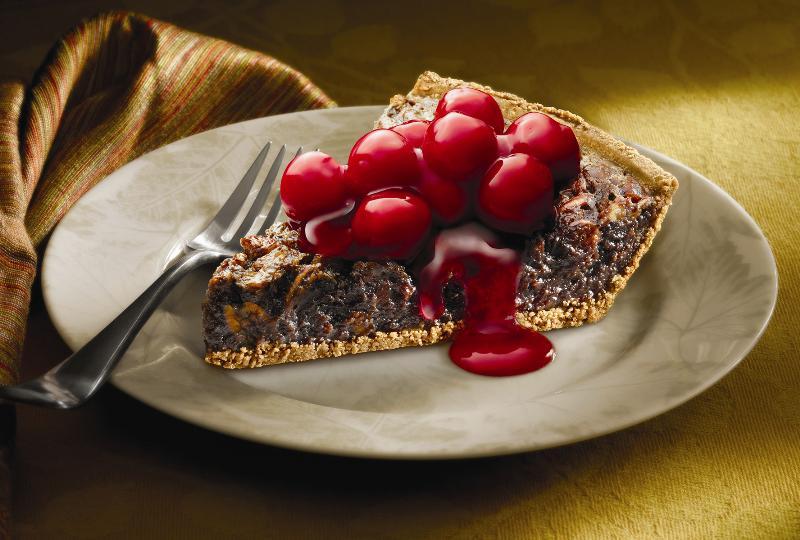 Black Forest Brownie Pecan Pie