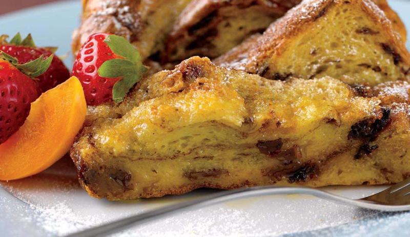 Butter Tart Strata