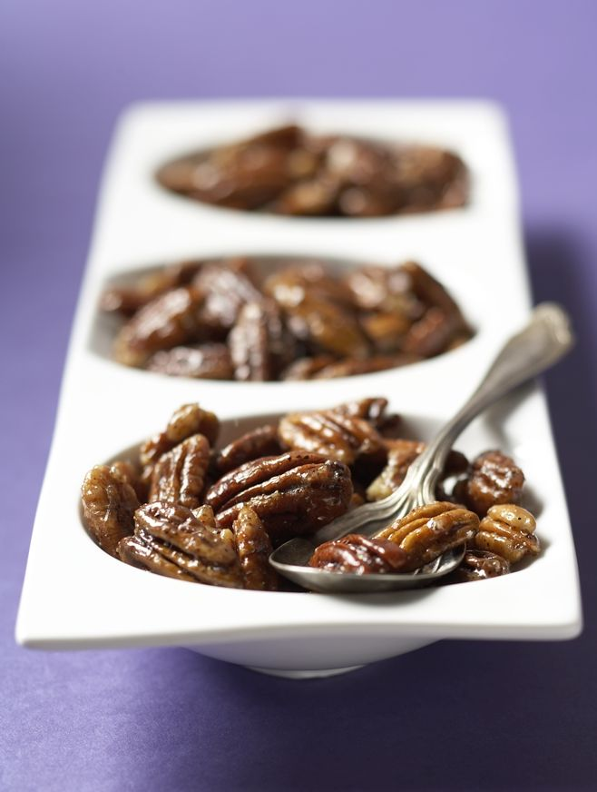 Candied Pepper Pecans