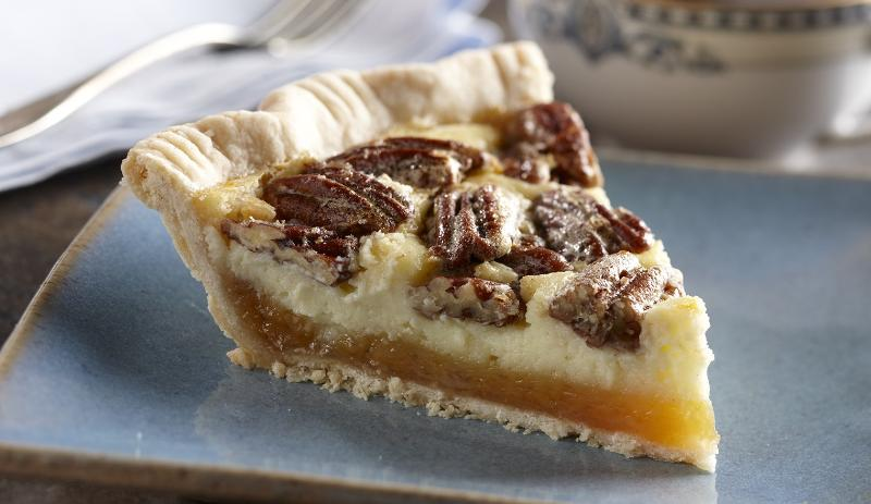 Cheesecake Pecan Pie