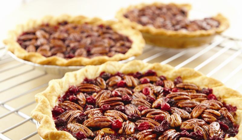 Chocolate Cranberry Pecan Pie