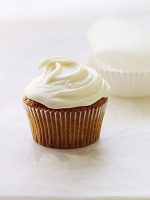 Carrot Cupcakes with Cream Cheese Frosting