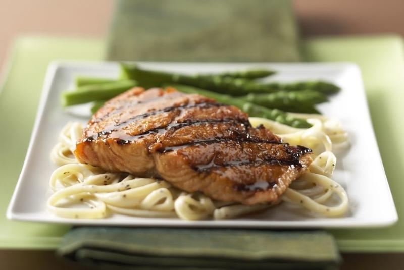 Cumin Glazed Grilled Salmon