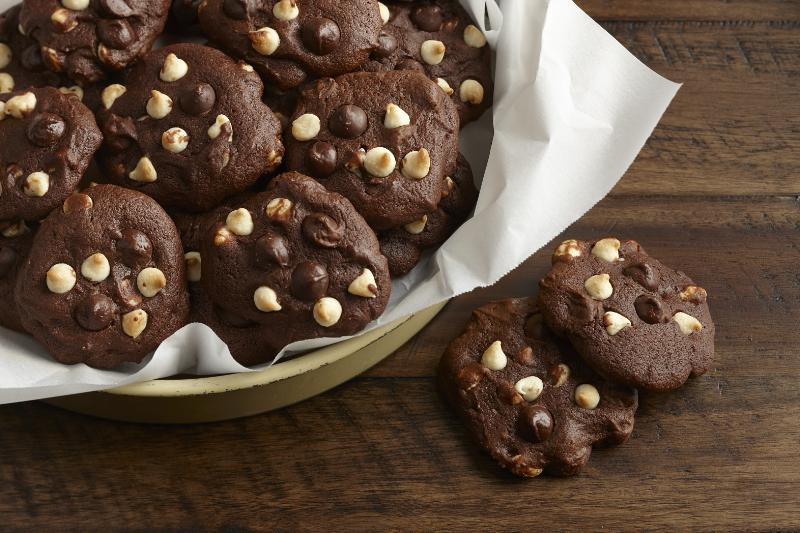Deep Chocolate Espresso Cookies