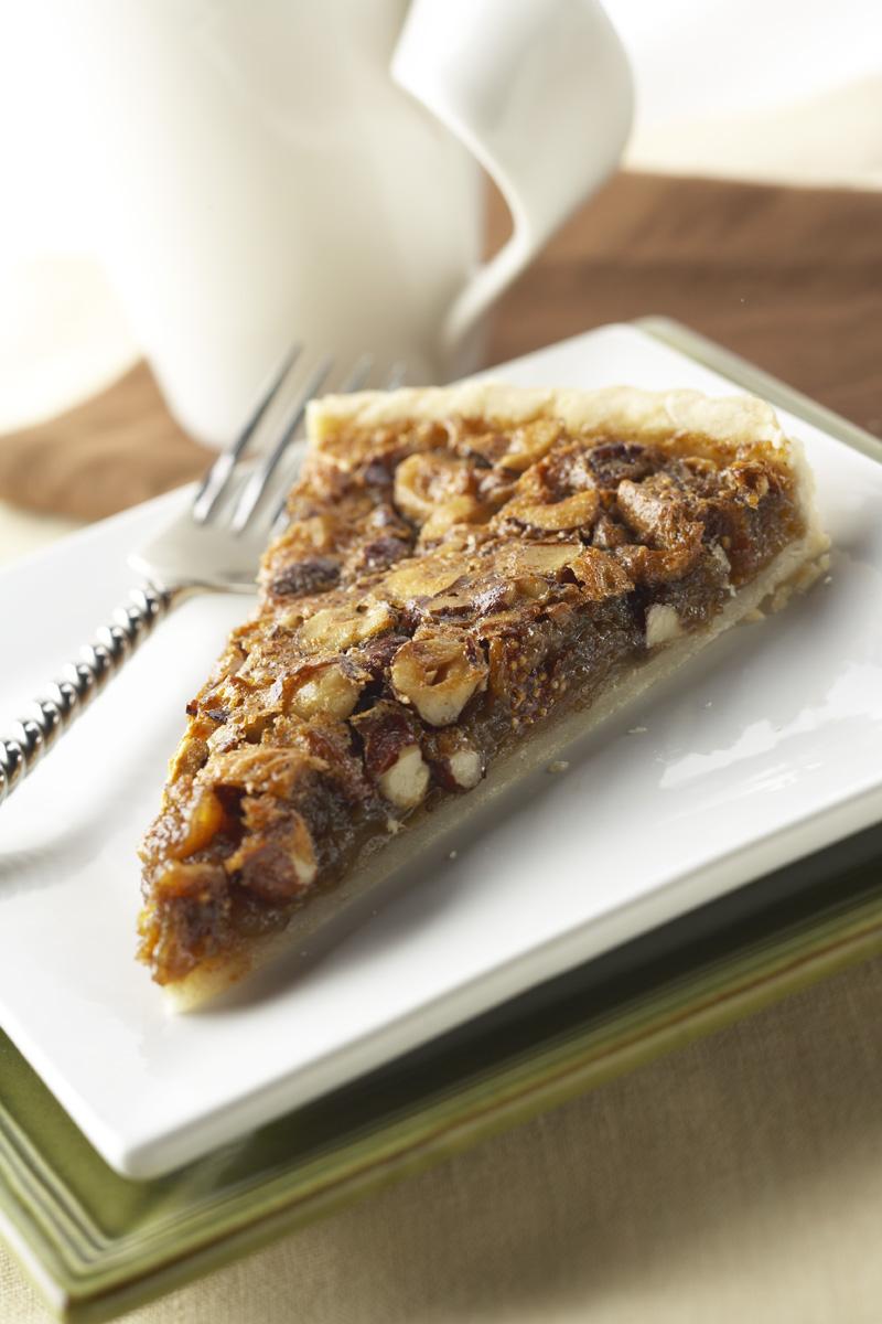 Hazelnut Fig Tart