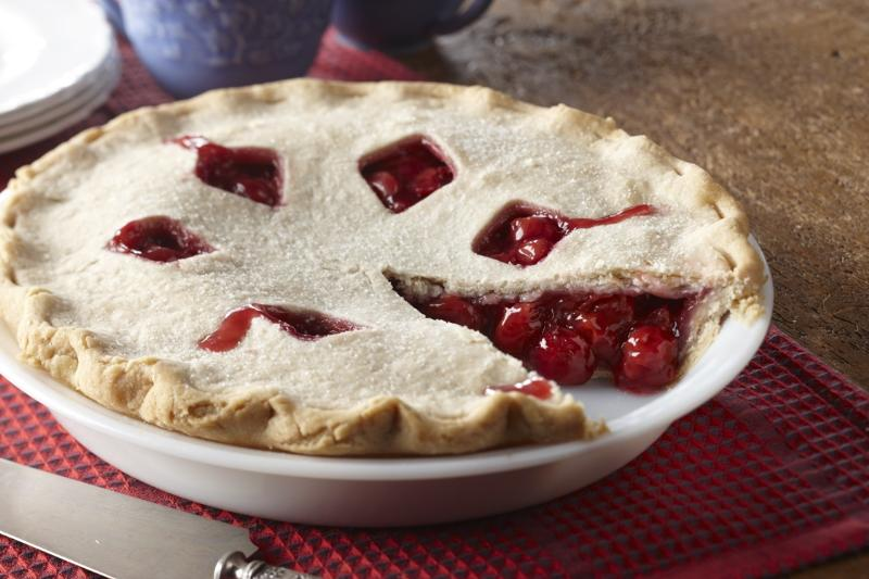 Homestyle Cherry Pie