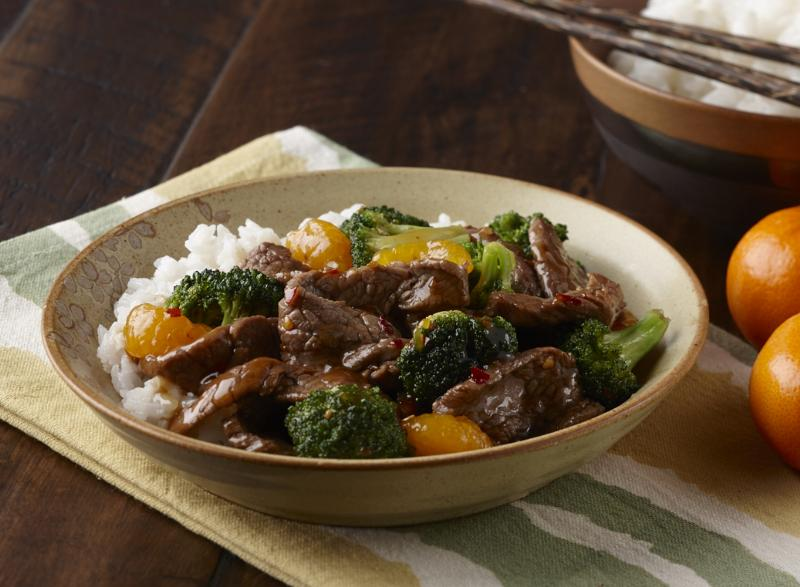 Mandarin Beef and Broccoli
