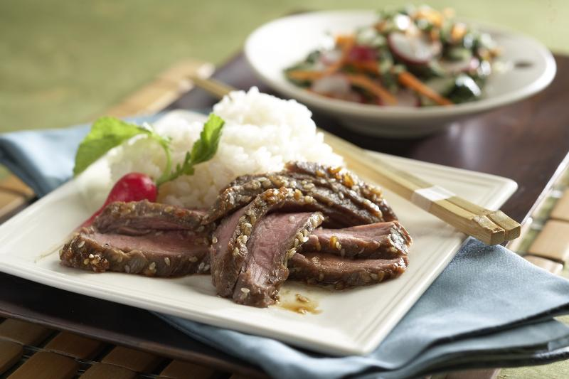Marinated Asian Flank Steak