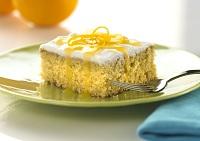 Orange Cake with Citrus Glaze