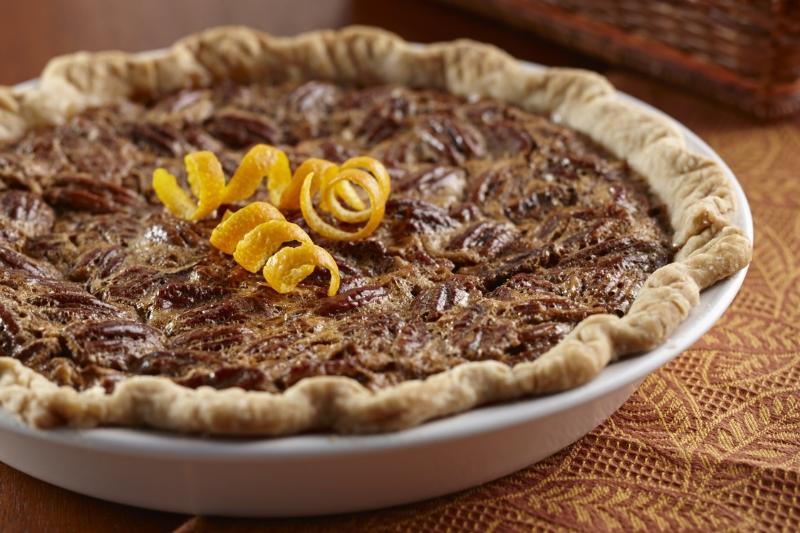 Orange Pecan Pie
