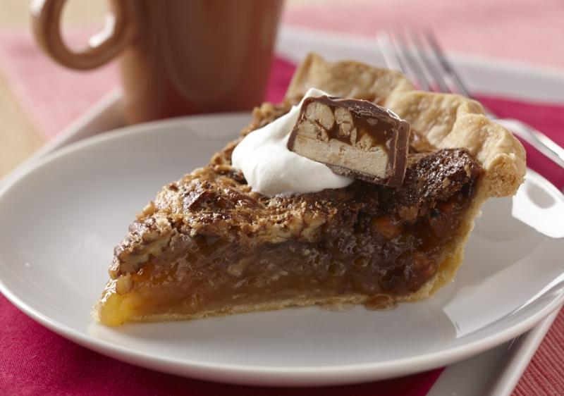 Classic Pecan Pie with Candy