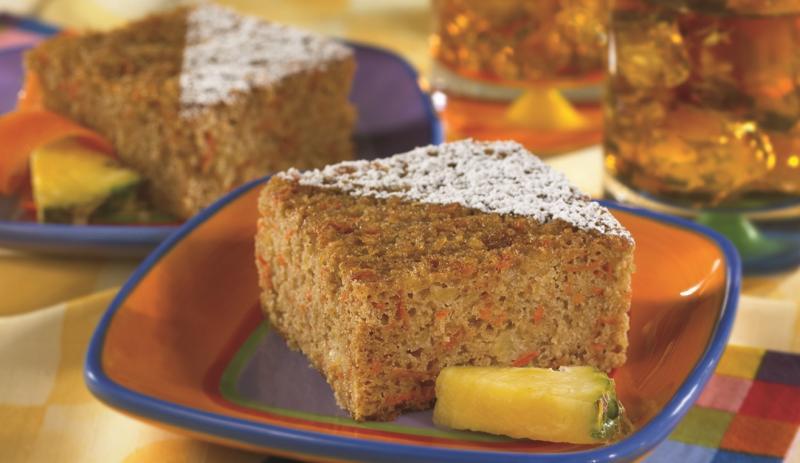Pineapple Carrot Snack Cake