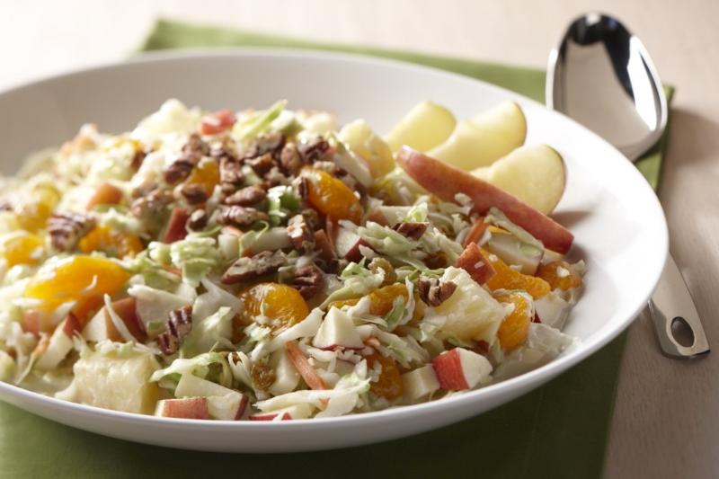 Sweet Fruited Coleslaw