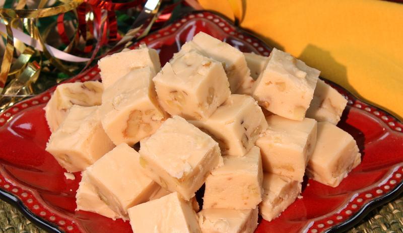 Vanilla Walnut Fudge