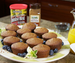Old Fashioned Bran Muffins