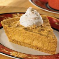 Frozen Pumpkin Cream Pie