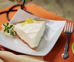 Creamy Frozen Yogurt Pie