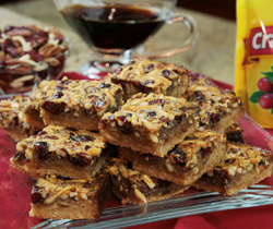 Perfectly Nutty Bars