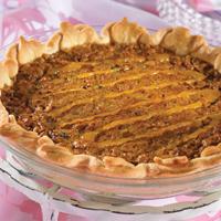 Raisin Walnut Pie
